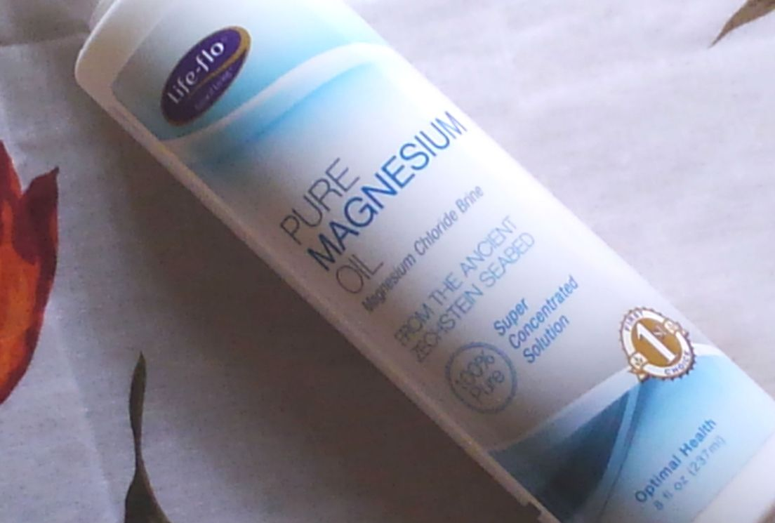 LIFEFLO_PURE MAGNESIUM OIL スプレー