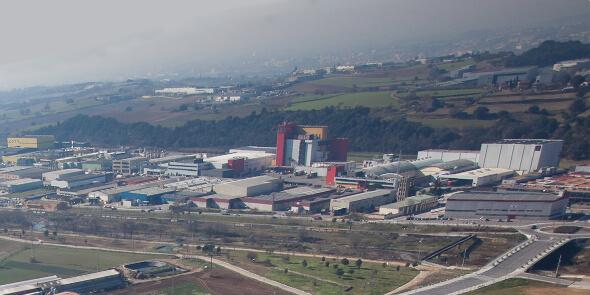 Prueba piloto de la recogida de residuos en el polígono Jordi Camp de Granollers