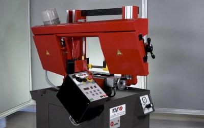 FAT 370 SA DV: la sierra semiautomática de doble columna para el corte angular de hasta 60º