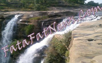 Amritdhara-Waterfal IN District of Chhattisgarh Korea