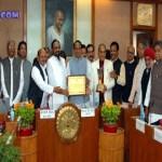 Madhya Pradesh has received the award Agriculture karmana