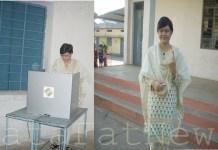 Sarguja collector IAS Ritu Sen vote