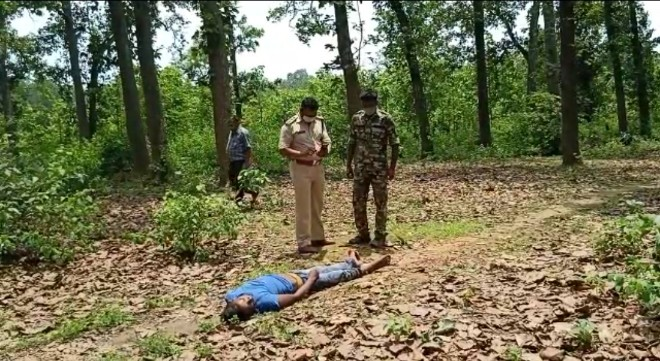 the-dead-body-of-a-young-man-working-in-the-dhaba-police-reached-the-spot