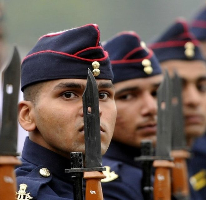 This is the image of National defence academy cadets. for the post of sarkari jobs NDA NA