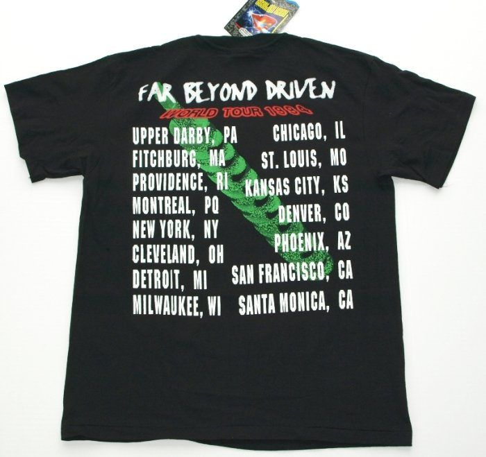 1994 Pantera Tour Shirt - With Tags! (2/3)