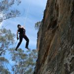 Beginners abseiling and canyoning