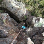 Abseiling Devils Hole and Whores Bed