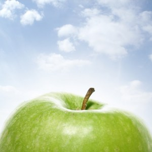 I love apples!  How far are they down the list?