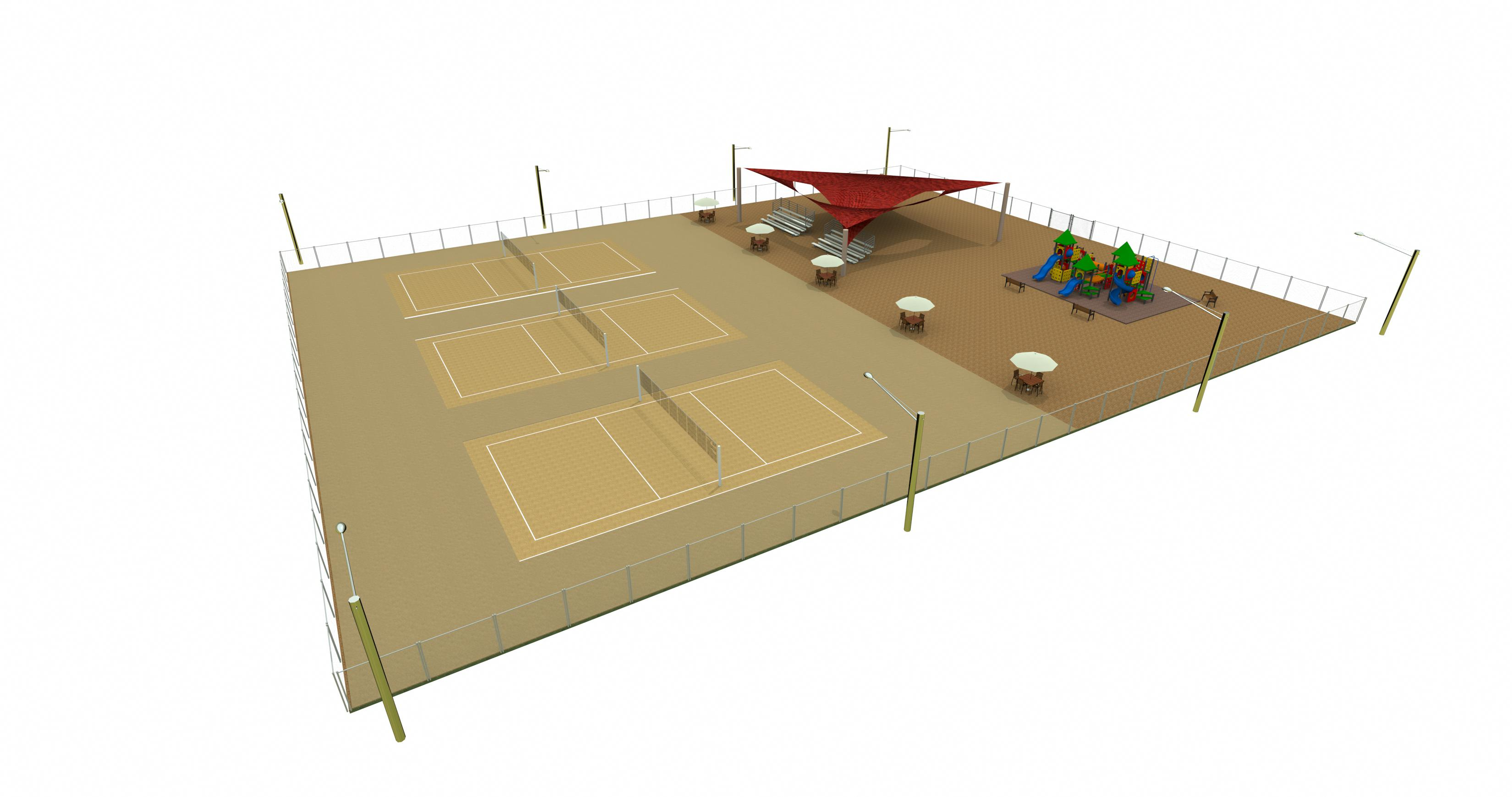 Sand-Courts