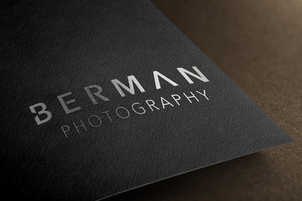 logo for Berman Photography