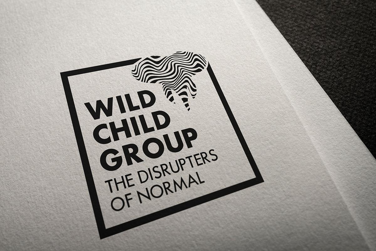 Wild Child Group mockup of logo