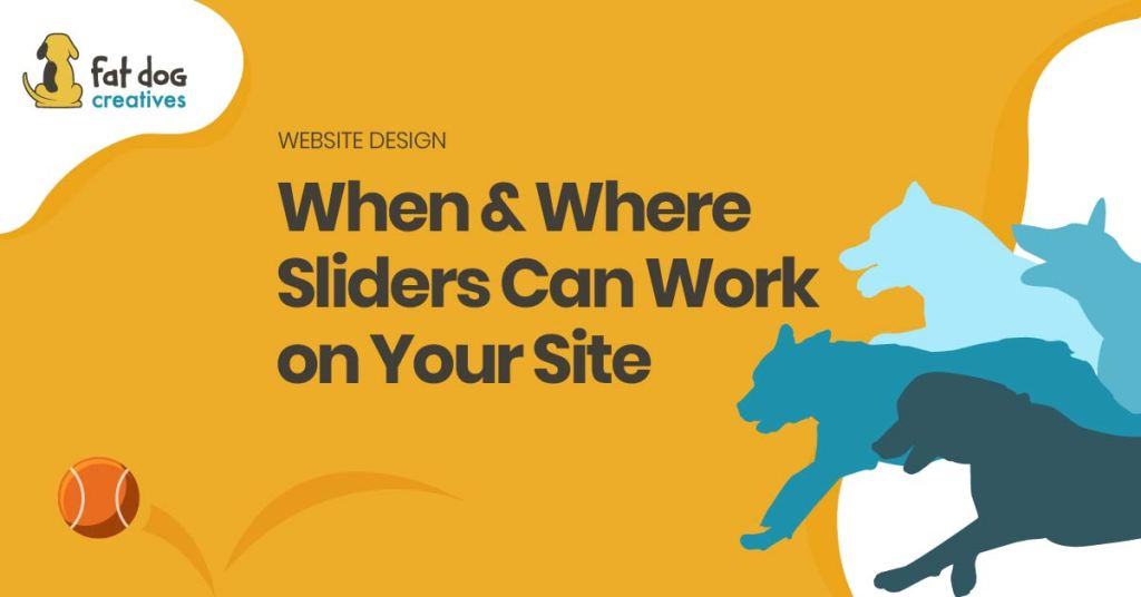 Where & Where sliders can work on your site