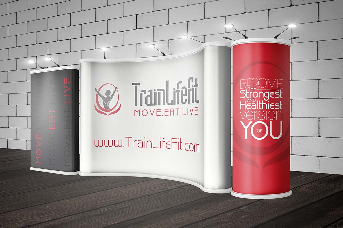 TLF Trade Show Booth Mockup