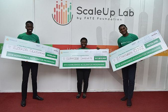 Top 3 Winners for 2018 ScaleUp Agribusiness