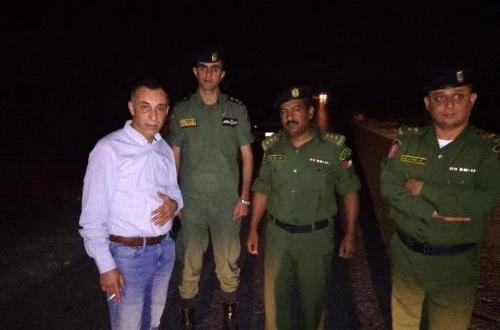 الارتباط العسكري يفتح المدخل الرئيسي لقرية دير أبو مشعل