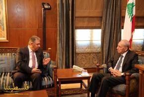 دبور يلتقي رئيس مجلس النواب اللبناني