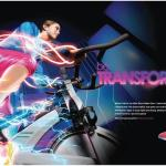 "The ""Bike"" 2 page spread."