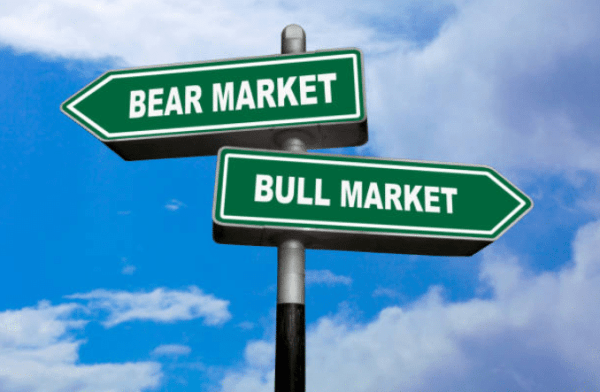 Bear market or bull market? We will never know.