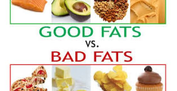 How to be healthy? Eat good fat, not bad fat
