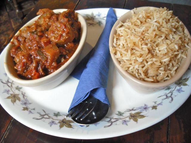 https://i1.wp.com/fatgayvegan.com/wp-content/uploads/2011/11/sausage-rice.jpg?fit=640%2C480&ssl=1