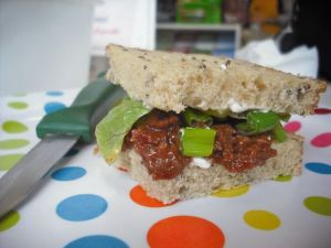 This Hoisin Duck sandwich was packed with flavour