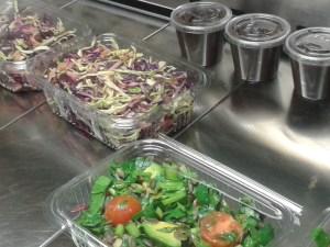 Raw salads & dressings