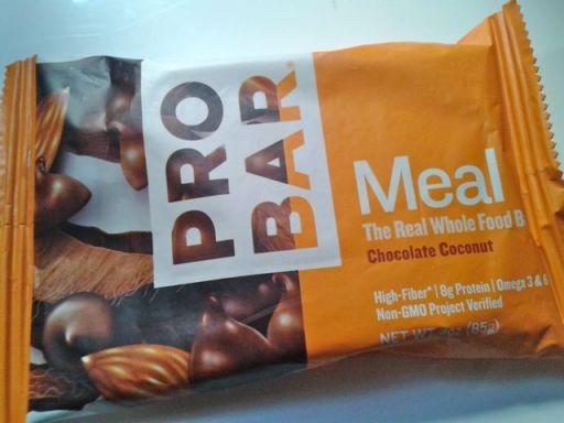 Chocolate coconut Pro Bar