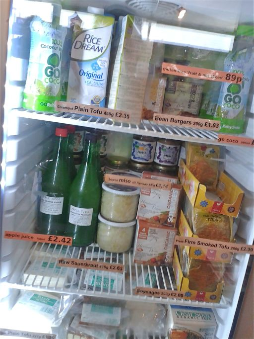 Chilled items