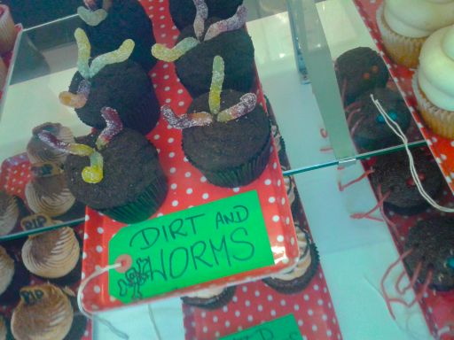 Scary cakes