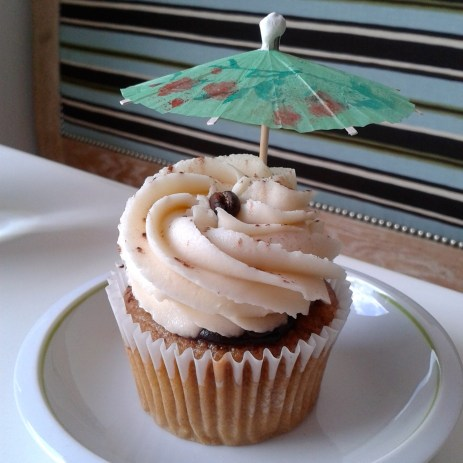 Tiramisu cupcake by Ms Cupcake