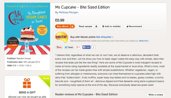Showing the Ms Cupcake ebook online