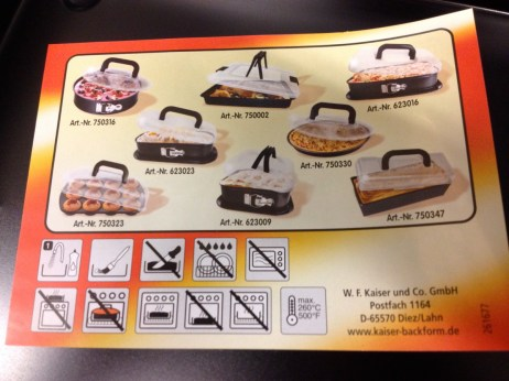 Oh the oven tray and lid possibilities
