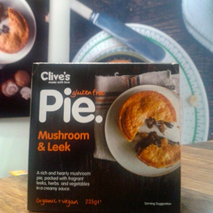 Clive's pies