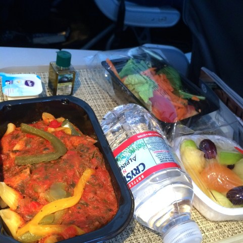 vegan meal American Airlines