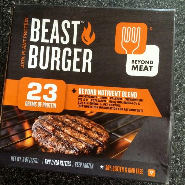 beast burger beyond meat