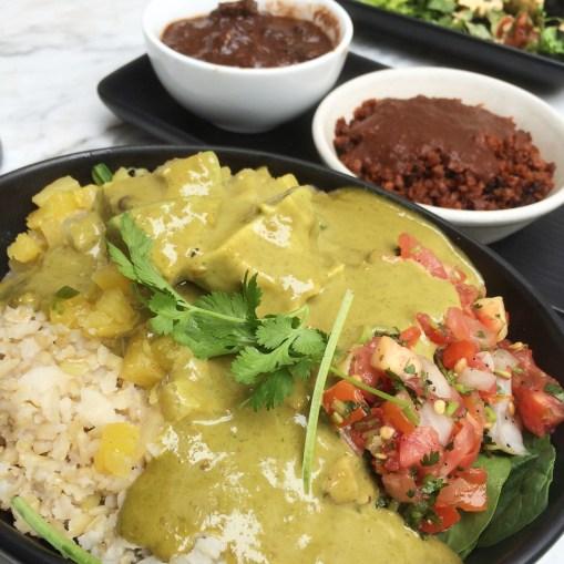 bowl chorizo mole