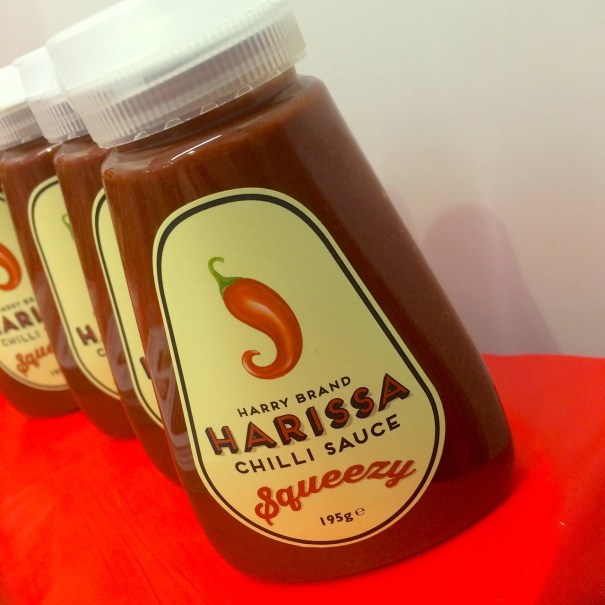 harry brand harissa chilli sauce