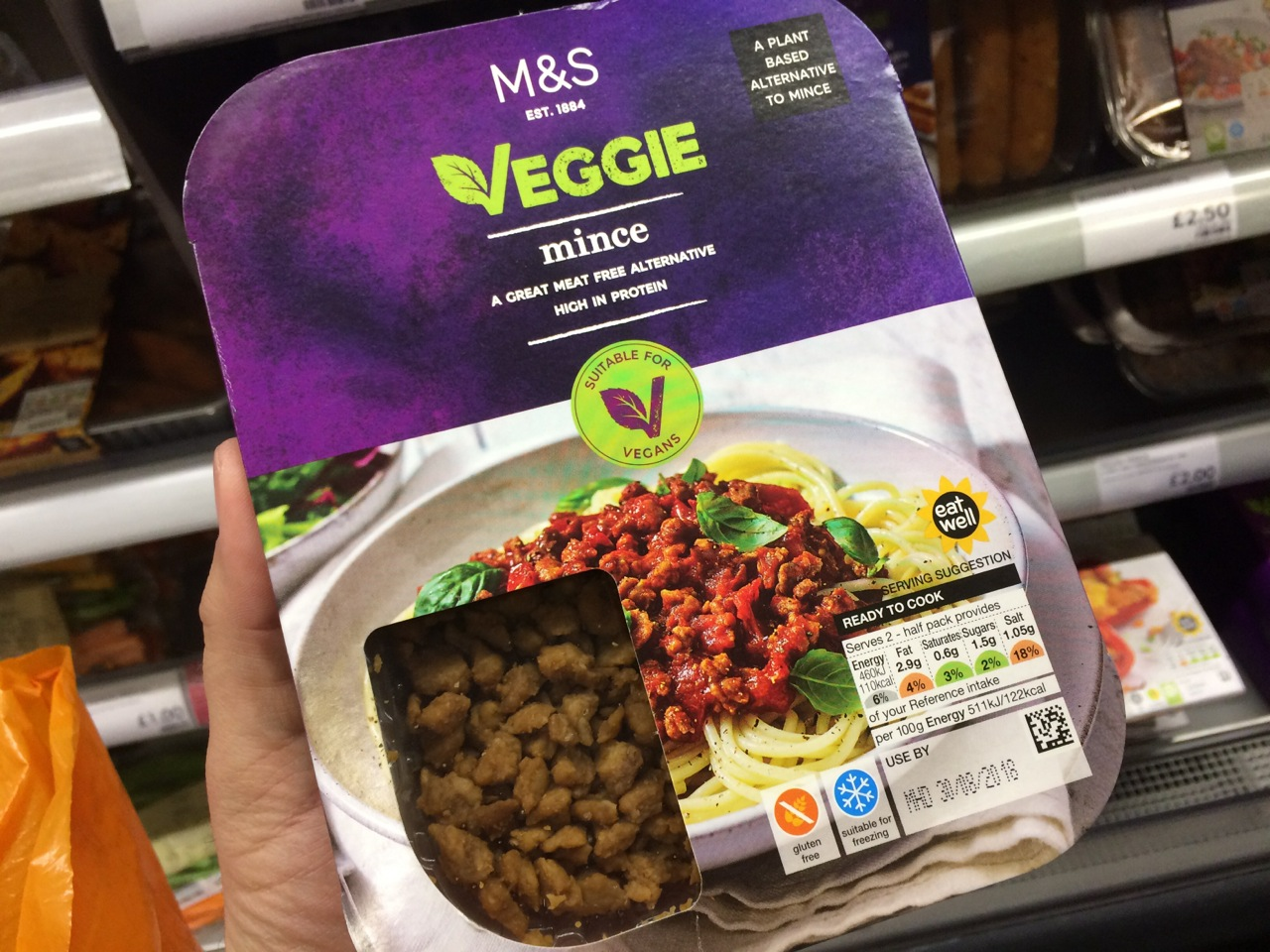 New Vegan Products At Marks And Spencer Fat Gay Vegan