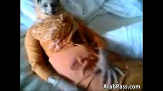 Arab Girl Shows Off Her Ass And Pussy