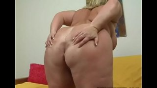 Nasty fat whore gets team-fucked by pal like never in advance of in life