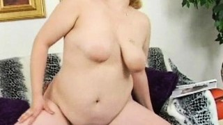 Slutty fat woman shows big body and bonks well with guy