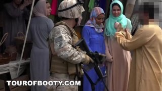 TOUR OF BOOTY – Operation Pussy Run with Soldiers In The Middle East!