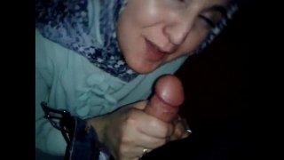 Turkish hijab kind girl gave her best