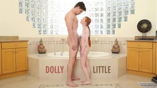 ABUSE ME – Redhead Teen Dolly Little Gets Ravaged By Bruce Venture