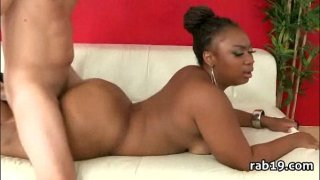 Nice round ass on this black chick