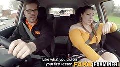 Fake driving school fucks bbw