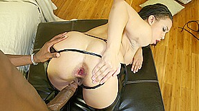 Gaping Aurora Jolies Asshole Wide with His BBC After Worshipping Her Heels