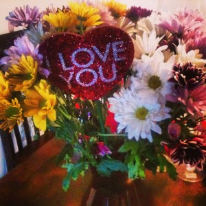 I Love You Flowers