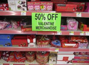 V Day clearance