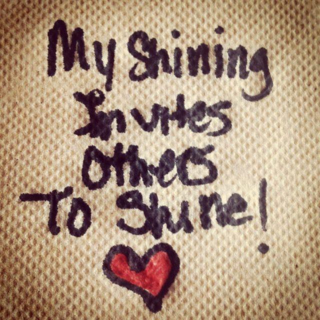 my shining invites